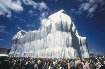 Wrapped Reichstag, The